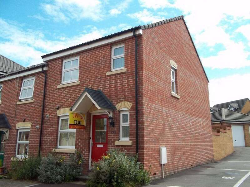 3 Bedrooms Semi Detached House for rent in Red Kite Close, Cwm Callon, Ystrad Mynach