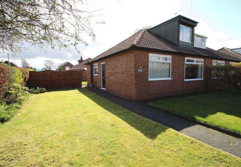 3 Bedrooms Semi Detached Bungalow for sale in The Ridgway, Romiley