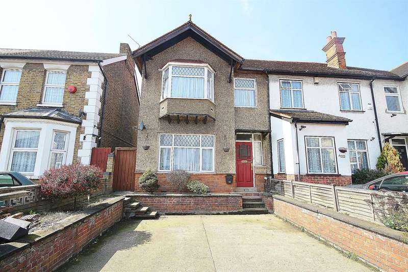 3 Bedrooms End Of Terrace House for sale in Dawley Road, Hayes, UB3 1LU