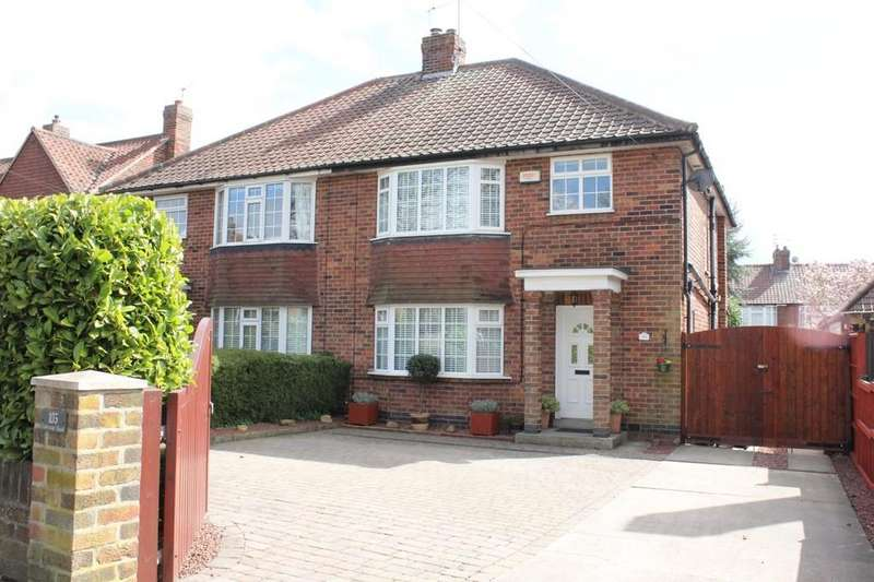 3 Bedrooms Semi Detached House for sale in 103 Tadcaster Road York YO24 1QG