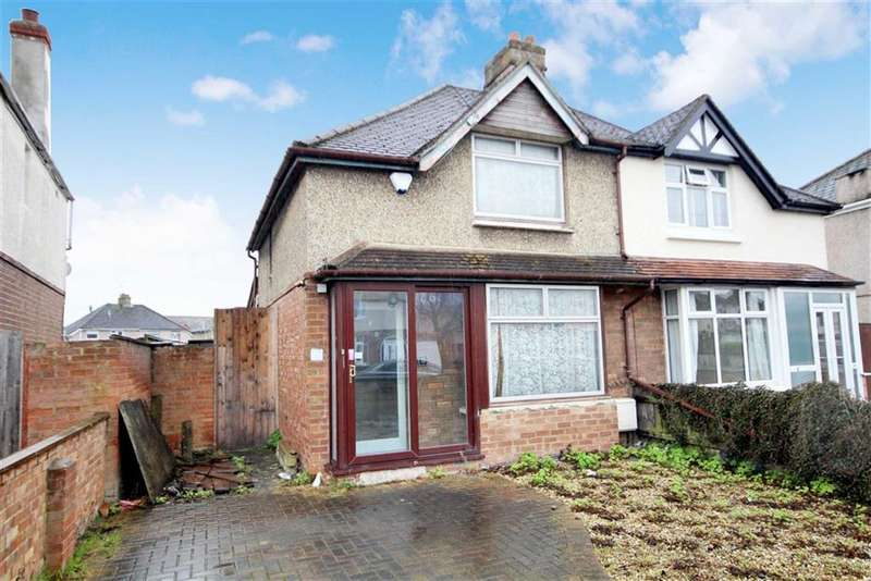 2 Bedrooms Semi Detached House for sale in Whitby Grove, Swindon, Wiltshire