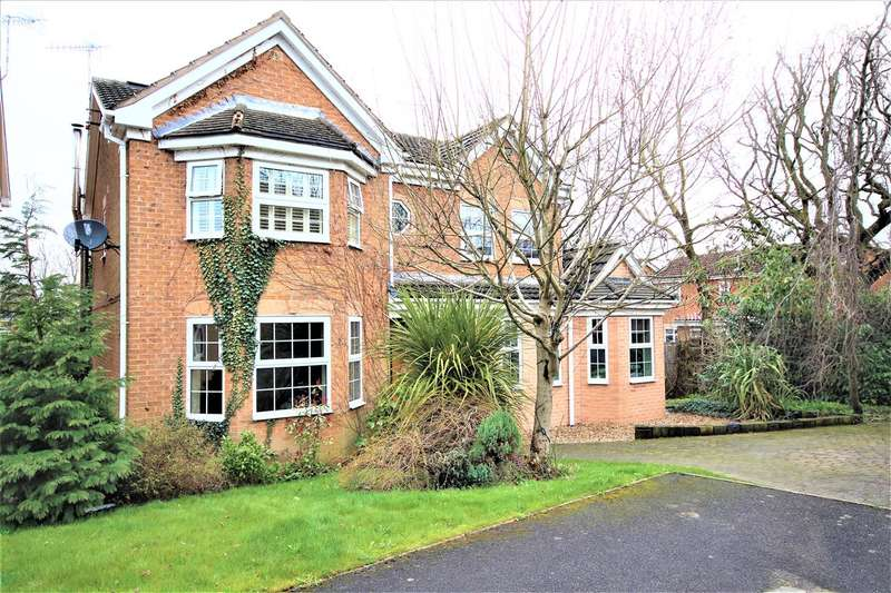 5 Bedrooms Detached House for sale in Kendray Close, Belper