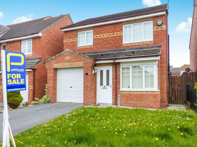 3 Bedrooms Property for sale in Glenview Close, Pelton Fell, Chester Le Street, Durham, DH2 2EU
