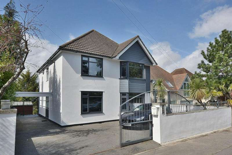 4 Bedrooms Detached House for sale in Canford Cliffs Road, Penn Hill, Poole, BH13 7AA