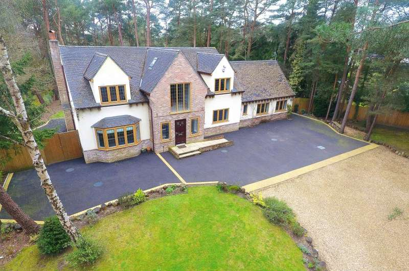 5 Bedrooms Detached House for sale in Ashley Heath, Ringwood, BH24 2JR