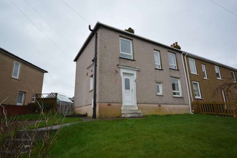 3 Bedrooms Semi Detached House for sale in Solway Road, Whitehaven, CA28