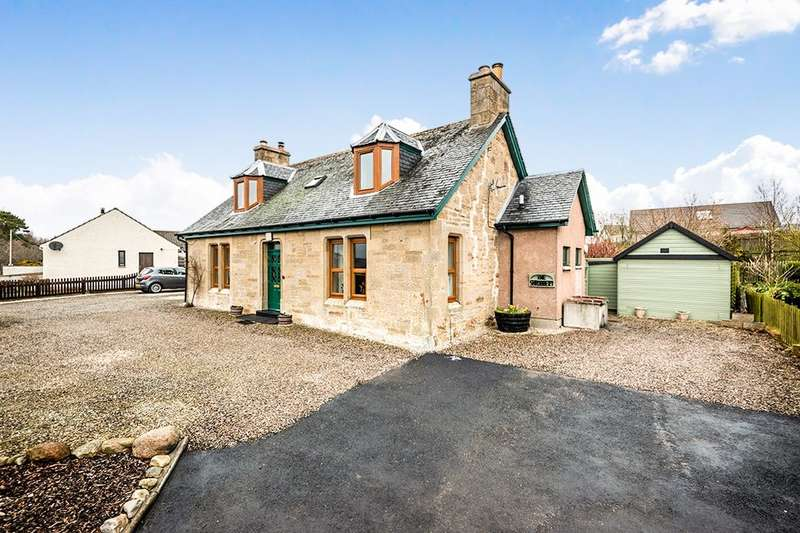 3 Bedrooms Detached House for sale in Rhynie Road, Fearn, Tain, IV20