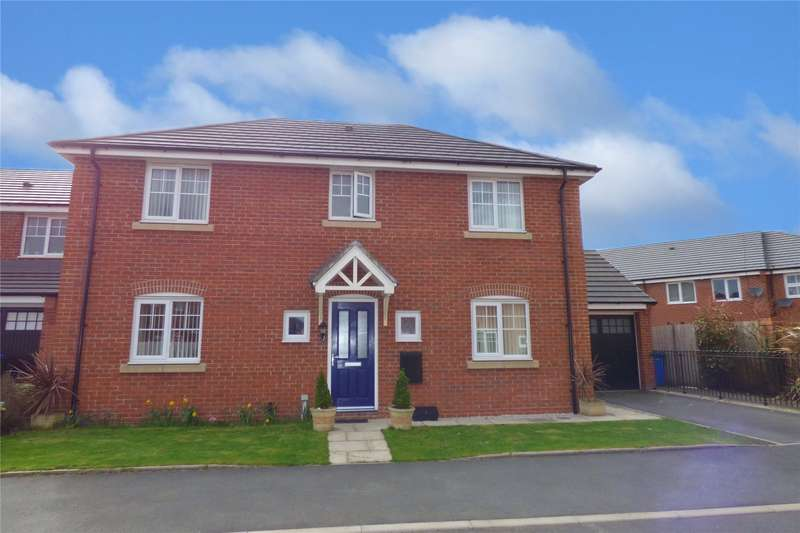 4 Bedrooms Detached House for sale in Knutshaw Grove, Heywood, Lancashire, OL10