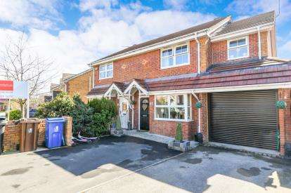 4 Bedrooms Semi Detached House for sale in Waltersgreen Crescent, Golborne, Warrington, Greater Manchester