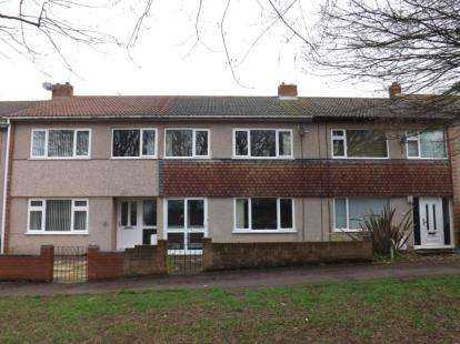 3 Bedrooms Terraced House for sale in Toddington Close, Yate, Bristol, Gloucestershire