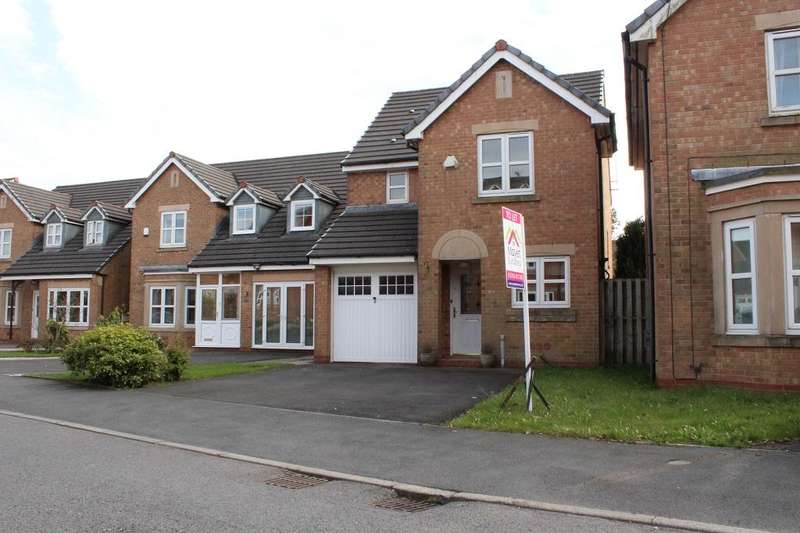 3 Bedrooms Detached House for rent in Seacole Close, Blackburn, Lancs, BB1 2RA