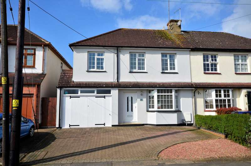 4 Bedrooms Semi Detached House for sale in The Meadow Way, Billericay