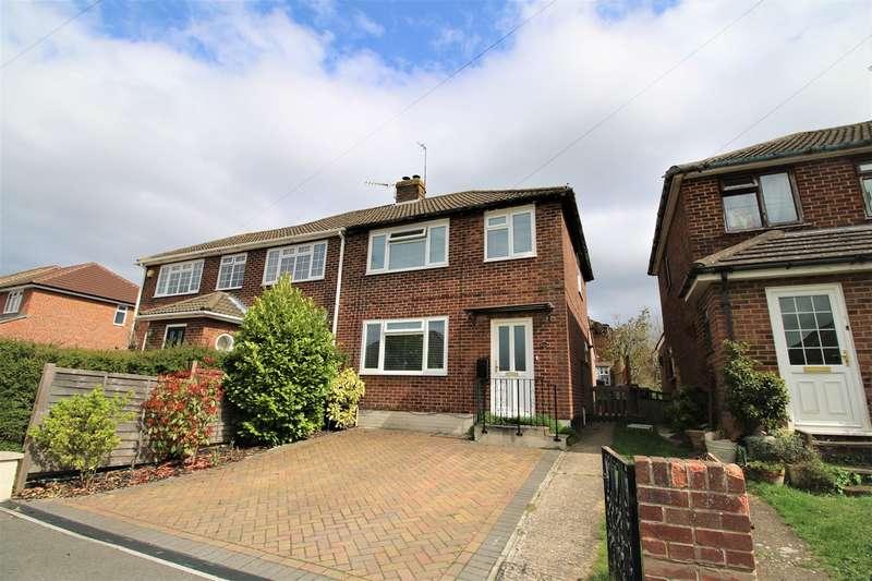 3 Bedrooms Semi Detached House for sale in Meadow Road, Harrow Way, Basingstoke, RG21