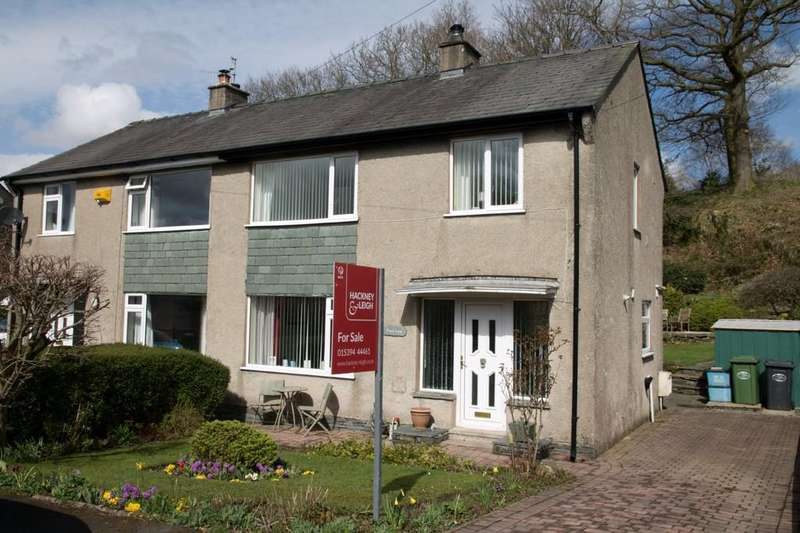 3 Bedrooms Semi Detached House for sale in 27 Fairfield Road, Windermere, Cumbria, LA23 2DR