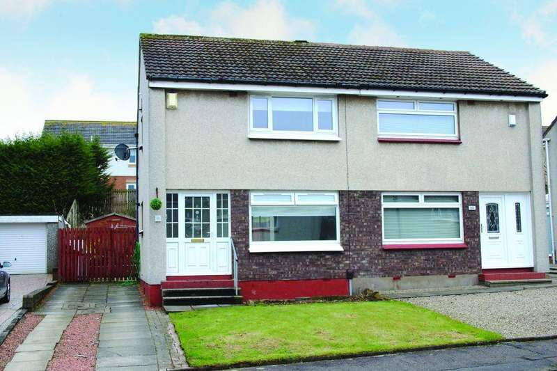 2 Bedrooms Semi Detached House for sale in 22 East Greenlees Drive, Cambuslang, Glasgow, G72 8TY