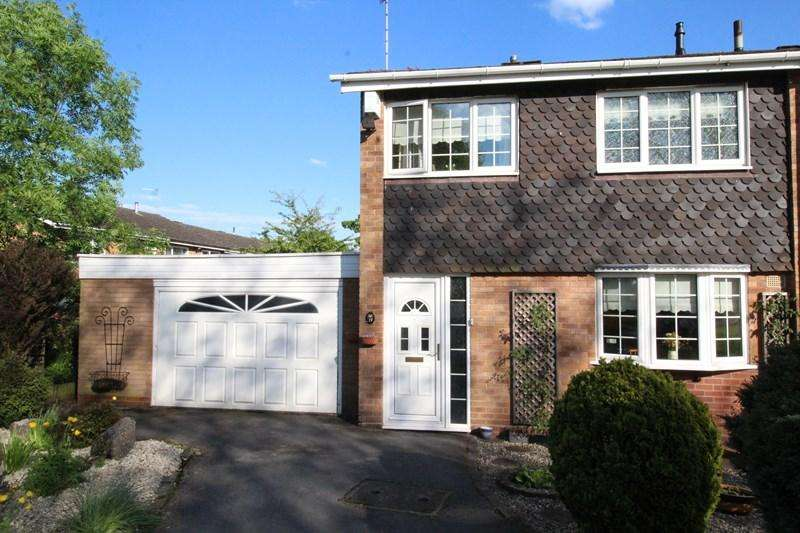 3 Bedrooms End Of Terrace House for sale in Emscote Green, Solihull