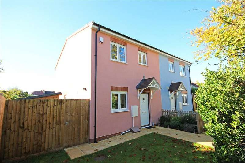 3 Bedrooms Semi Detached House for sale in Beloe Mews, Horfield, Bristol, BS7