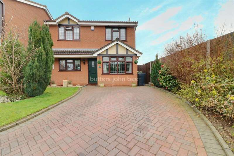 3 Bedrooms Detached House for sale in Coombe Croft, Pendeford, Wolverhampton