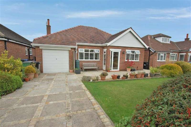 2 Bedrooms Detached Bungalow for sale in Glandon Drive, Cheadle Hulme, Cheshire