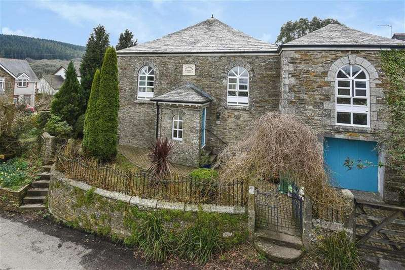 4 Bedrooms Detached House for sale in North Hill, Launceston, Cornwall, PL15