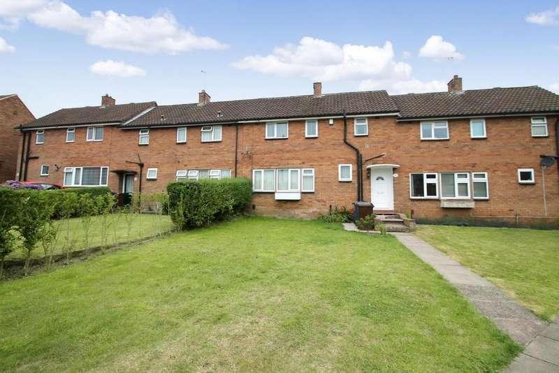 3 Bedrooms Terraced House for sale in Leasowe Road, Rugeley