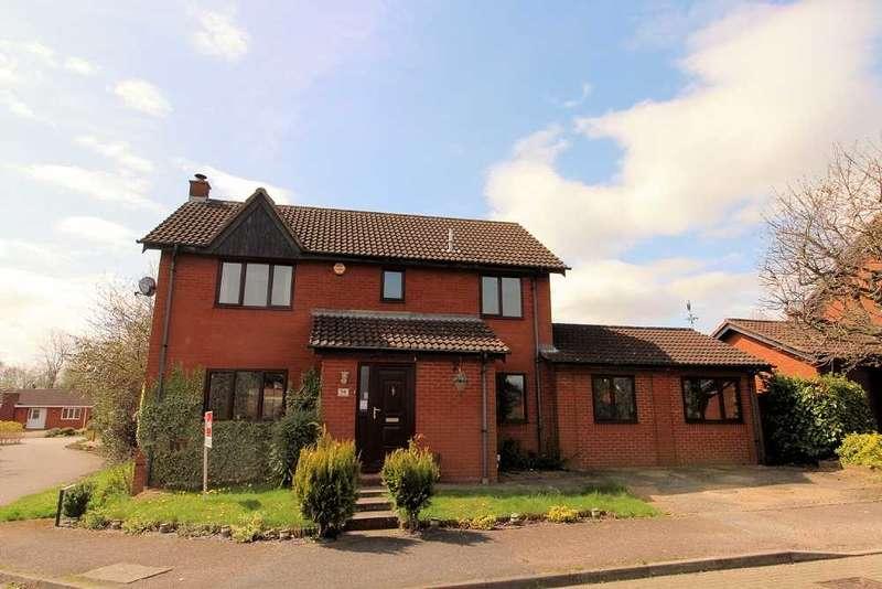 4 Bedrooms Detached House for sale in Milesmere, Two Mile Ash, Milton Keynes, Buckinghamhamshire
