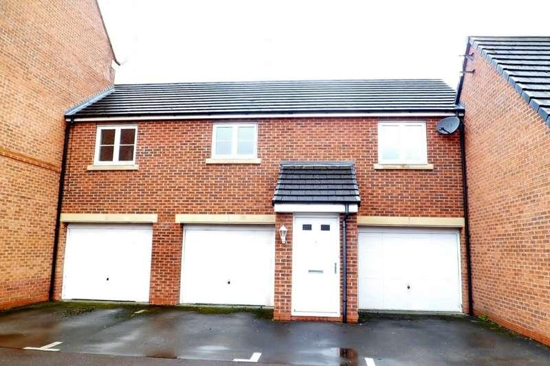 2 Bedrooms Flat for sale in Lambourne Court, Gwersyllt, Wrexham, LL11
