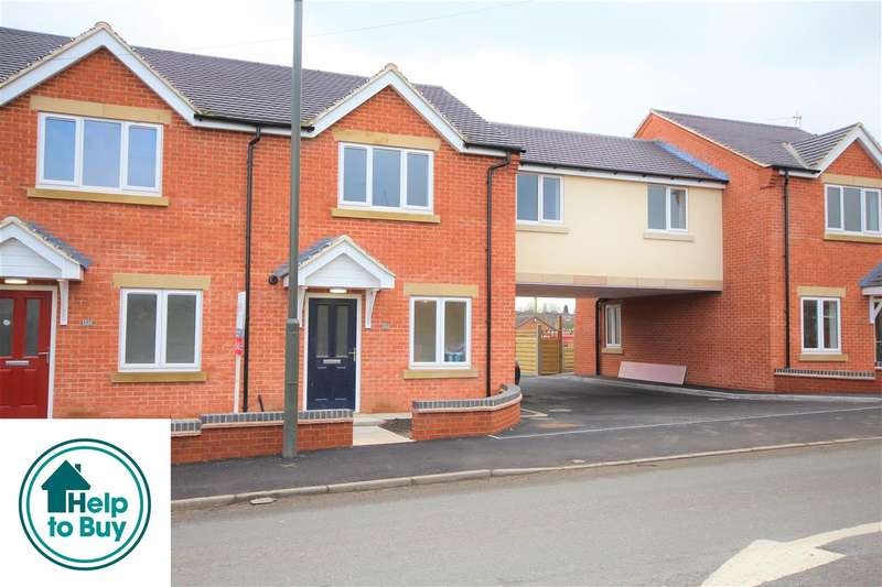 3 Bedrooms Town House for sale in Codnor Gate, Codnor