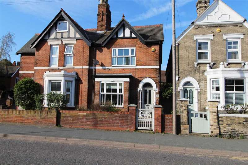 3 Bedrooms Semi Detached House for sale in Military Road, New Town, Colchester