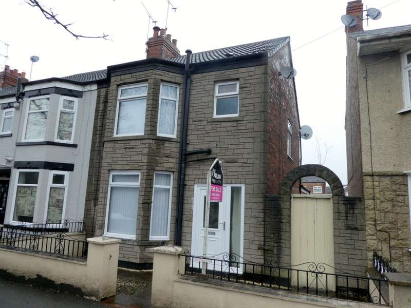3 Bedrooms End Of Terrace House for sale in Southcoates Lane, Hull, HU9