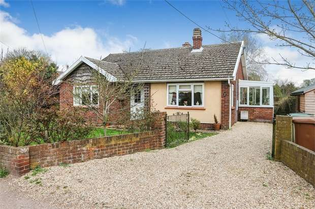 3 Bedrooms Detached Bungalow for sale in Shelfanger Road, Diss, Norfolk