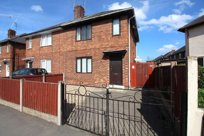 3 Bedrooms Semi Detached House for sale in Victoria Road, Saltney, Chester, CH4