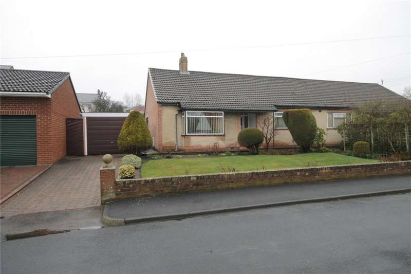 3 Bedrooms Semi Detached Bungalow for sale in Burnside, Lanchester, Durham, DH7