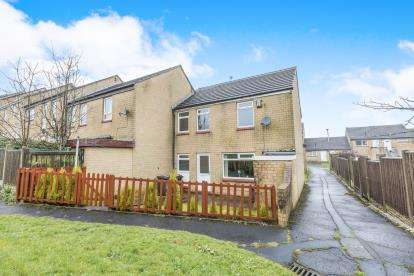 3 Bedrooms End Of Terrace House for sale in Heys Close, Blackburn, Lancashire