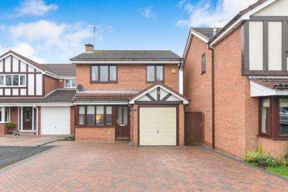 3 Bedrooms Detached House for sale in Middleton Gardens, Worcester, Worcestershire, .