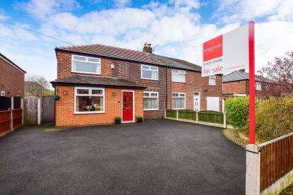 4 Bedrooms Semi Detached House for sale in Hayfield Road, Woolston, Warrington, Cheshire