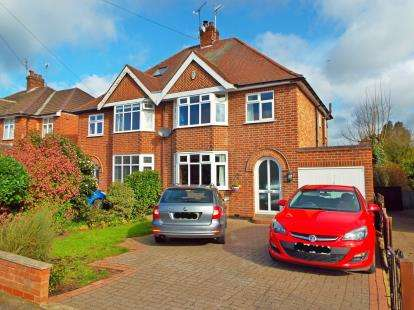 3 Bedrooms Semi Detached House for sale in Grasmere Road, Beeston, Nottingham