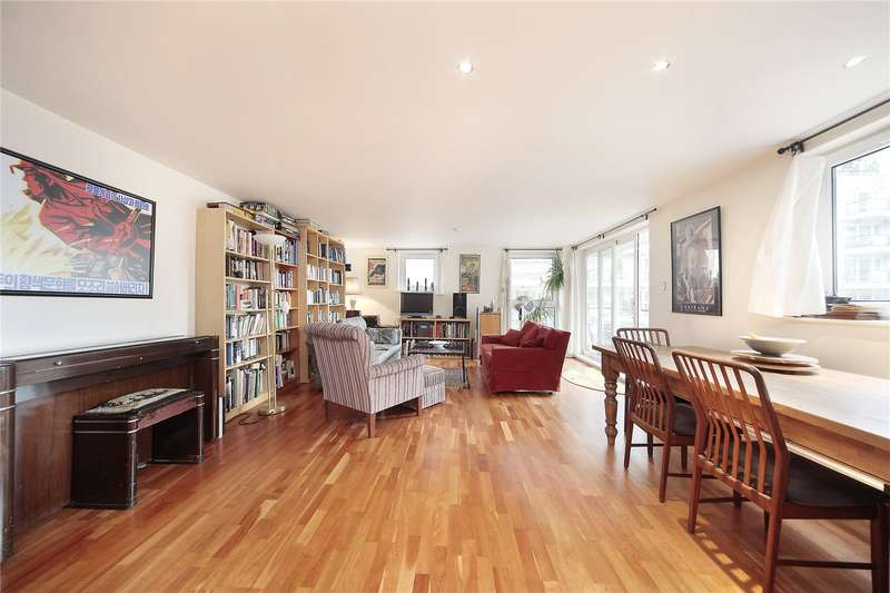 2 Bedrooms Flat for sale in Compass House, Smugglers Way, Wandsworth, London, SW18