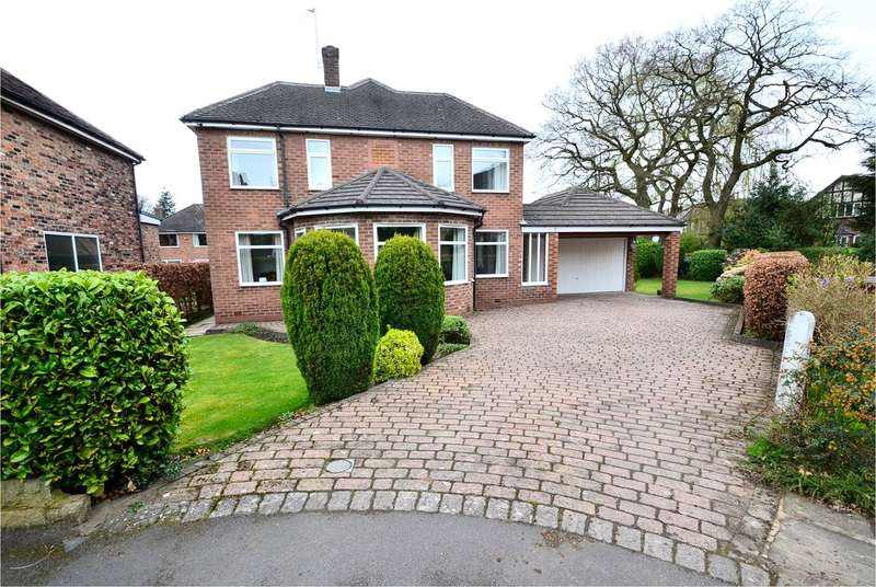 3 Bedrooms Detached House for sale in Huxley Close, Bramhall, Stockport SK7 2PJ