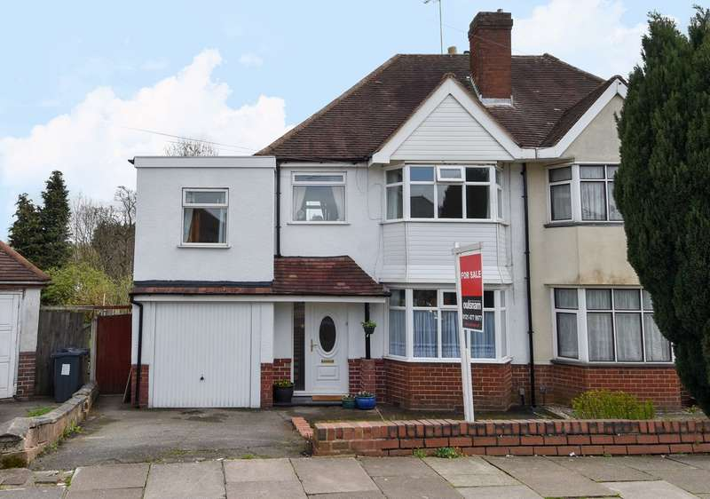 4 Bedrooms Semi Detached House for sale in Bodenham Road, Northfield, Birmingham, B31