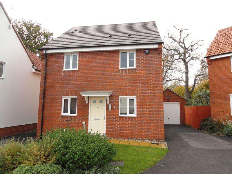 3 Bedrooms Detached House for sale in Blyth's Wood Avenue, Costessey, Norwich