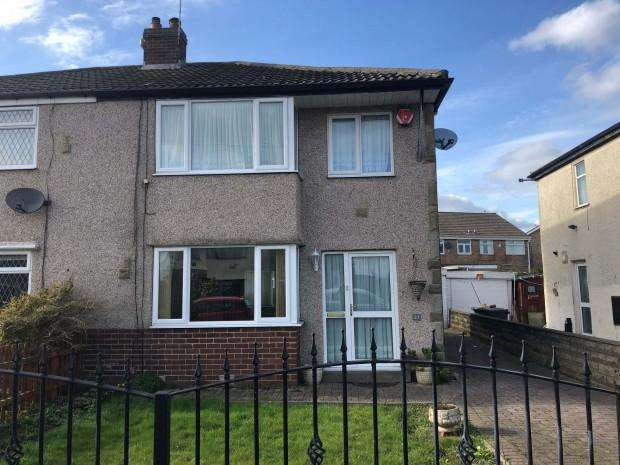 3 Bedrooms Semi Detached House for rent in Tyersal Drive, Bradford, BD4