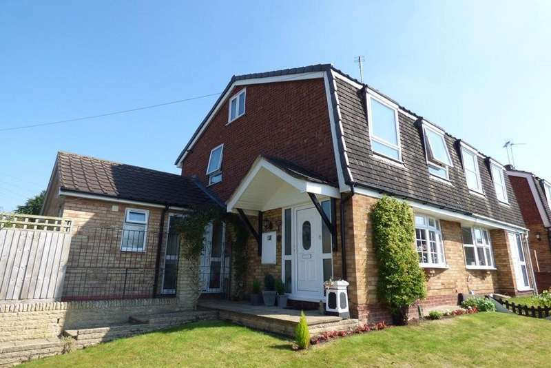 4 Bedrooms Semi Detached House for sale in Meadow Glade, Hixon, Stafford