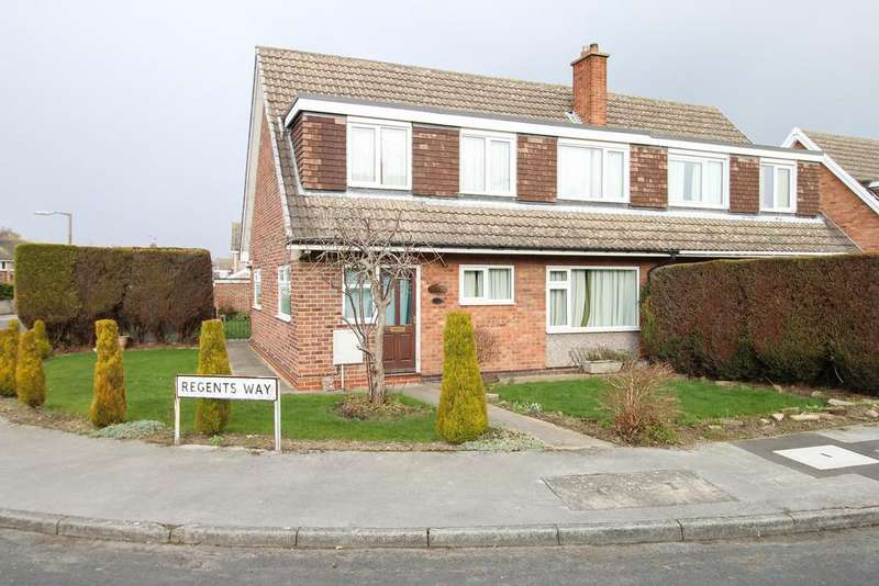 3 Bedrooms Semi Detached House for sale in Regents Way, Aston