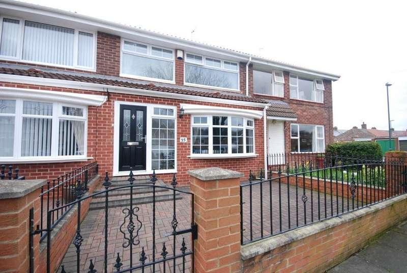 3 Bedrooms Terraced House for sale in Ettrick Road, Jarrow