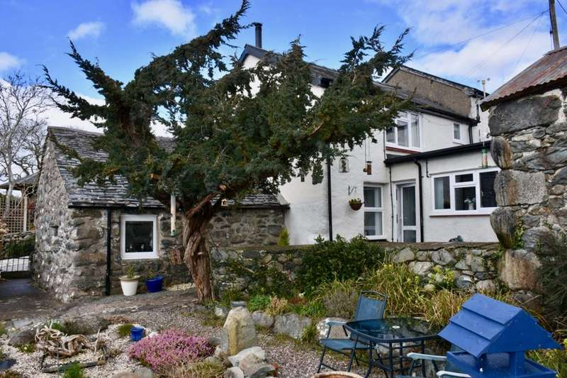 2 Bedrooms Cottage House for sale in Pant Yr Aethnan, Dyffryn Aruduwy, LL44