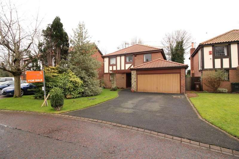 4 Bedrooms Detached House for sale in Fencer Court, Gosforth, Newcastle Upon Tyne