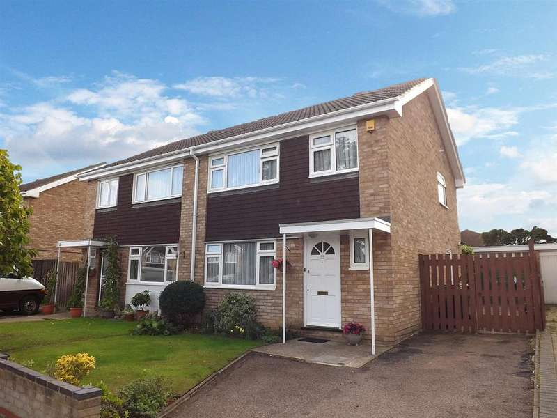 3 Bedrooms Semi Detached House for sale in Dunster Gardens, Bedford