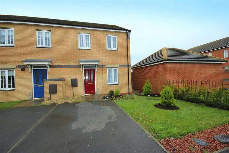 3 Bedrooms End Of Terrace House for sale in Hart Lane, Trinity Square, Hartlepool