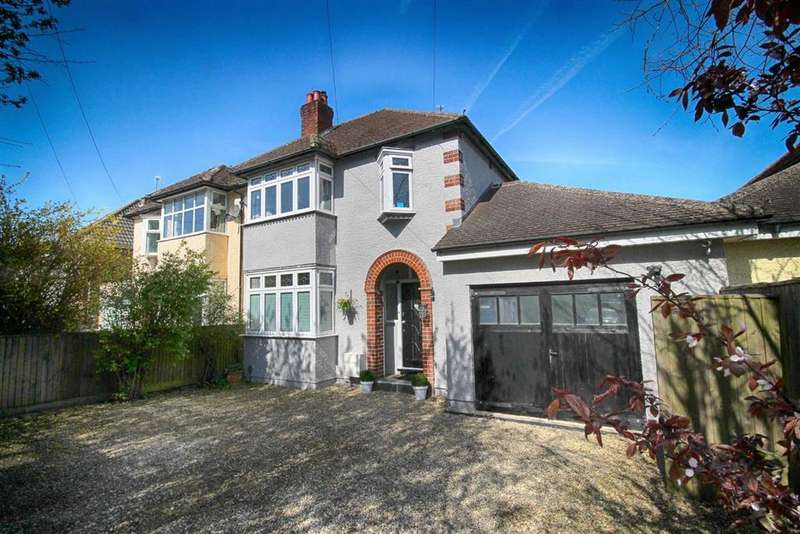 3 Bedrooms Semi Detached House for sale in Priors Road, Cheltenham, GL52